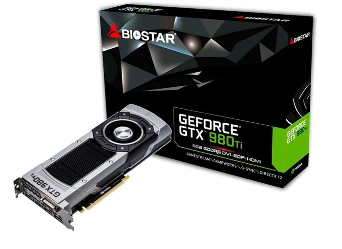 BIOSTAR lanza su propia GTX 980Ti , Imagen 1