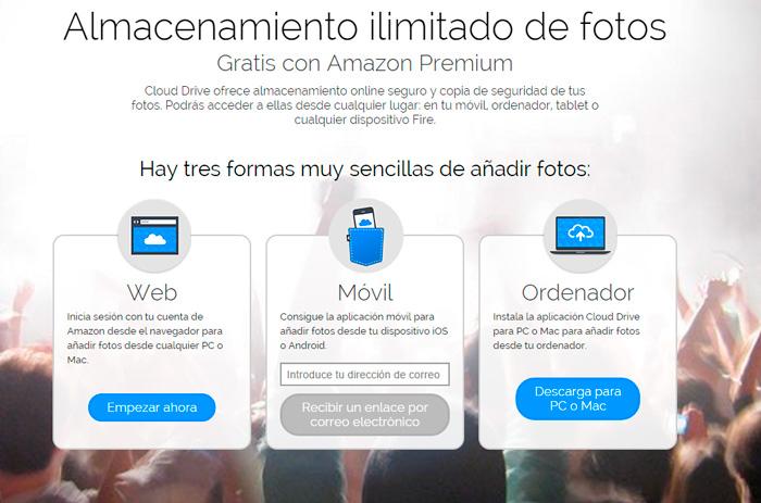 Amazon Premium Fotos, almacenamiento ilimitado en la nube para fotografías, Imagen 1
