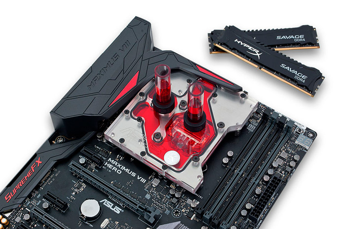 Las ASUS Maximus VIII ya tienen su propio bloque de CPU y VRM de EK Water Blocks, Imagen 1