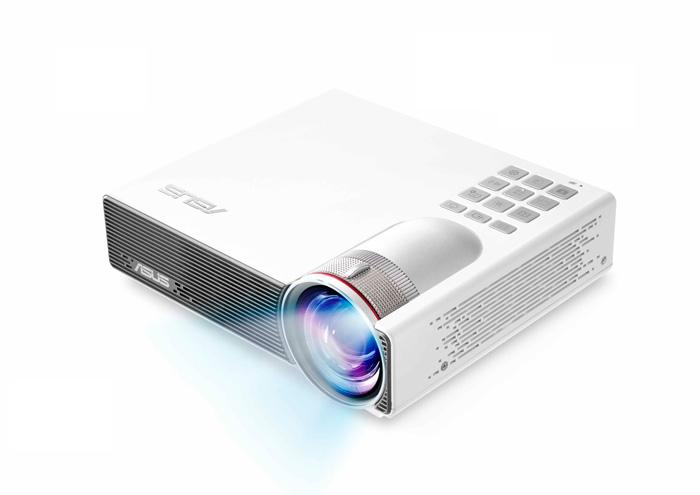 ASUS P3B, nuevo proyector compacto con batería, Imagen 1