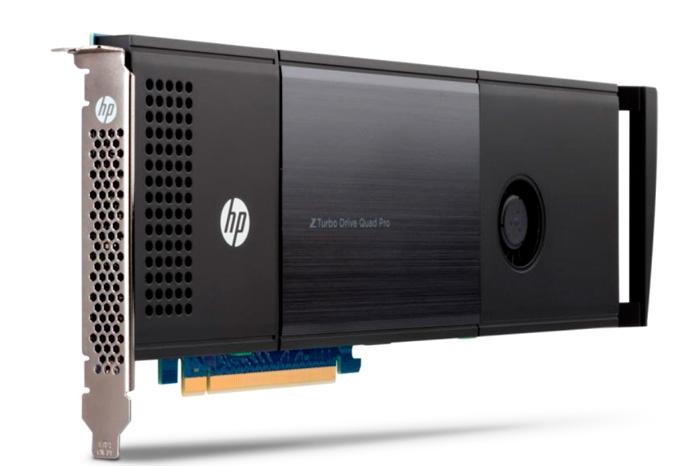 HP Z Turbo Drive Quad Pro, un SSD que alcanza los 9 GB/s, Imagen 1