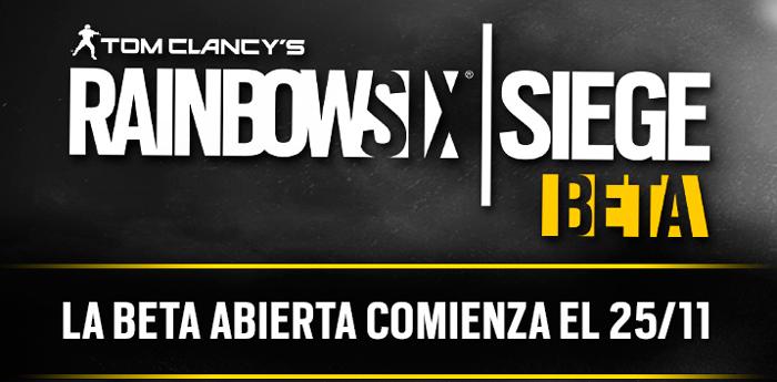 Rainbow Six Siege tendrá una beta abierta la próxima semana, Imagen 1