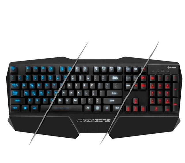 Sharkoon lanza el teclado gaming Shark Zone K20 , Imagen 1