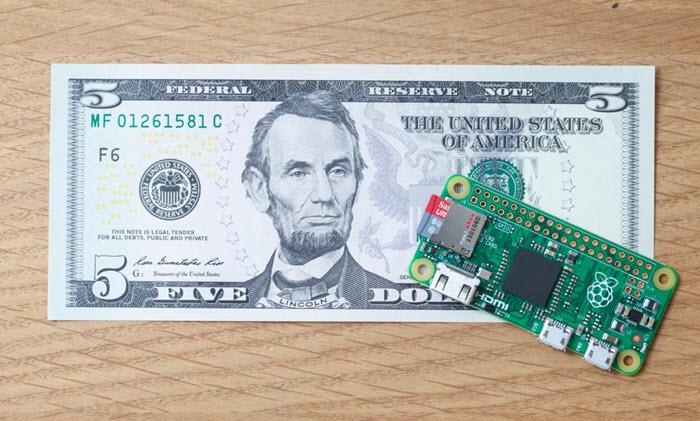 Llega la Raspberry Pi Zero por tan solo 5 Dólares, Imagen 1