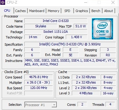 Consiguen desbloquear el BCLK en un Intel Core i3-6320, Imagen 1
