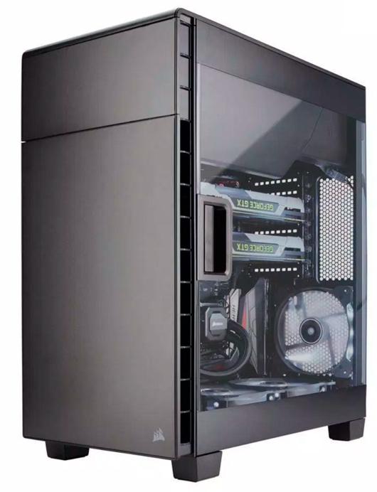 Corsair anuncia su primera torre invertida Carbide 600C, Imagen 1