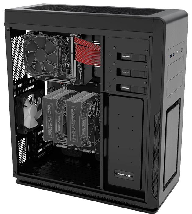 Enthoo Mini XL Dual System, una torre para integrar dos ordenadores, Imagen 1