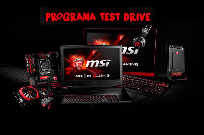 MSI lanza el programa Test Drive para probar sus productos antes de comprarlos, Imagen 1