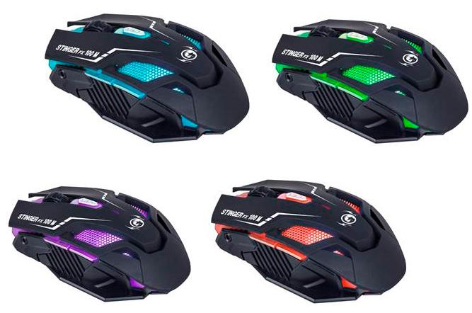 Woxter presenta su nuevo ratón gaming Stinger FX100 M, Imagen 1