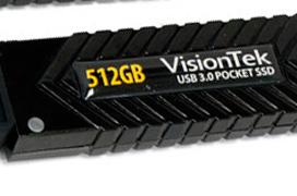 Visiontek lanza nuevos pendrives USB 3.0 de alto rendimiento
