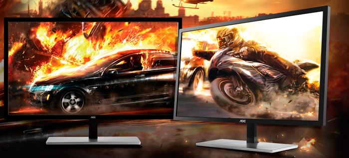 AOC U2879VF, nuevo monitor 4K con FreeSync, Imagen 1