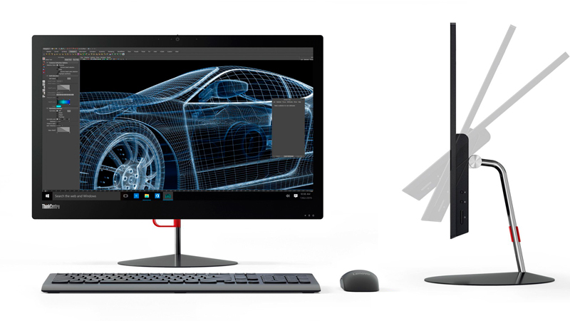 Lenovo ThinkCentre X1, un All in One con tan solo 11 mm de grosor, Imagen 1