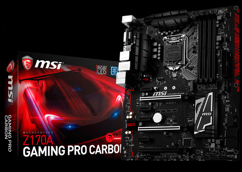 MSI X99A Godlike Gaming Carbon y Z170A Gaming Pro Carbon, Imagen 2