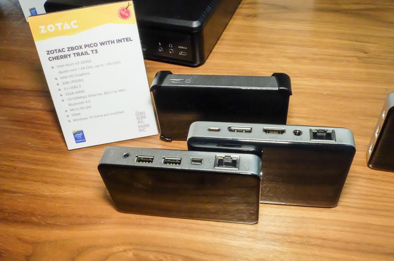 ZOTAC ZBOX PICO T3 y T4 con procesadores Cherry Trail, Imagen 1