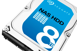 Seagate lanza un nuevo disco duro de 8 TB para NAS