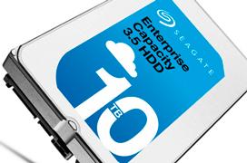 Seagate alcanza los 10 TB con su nuevo disco duro Helium Enterprise