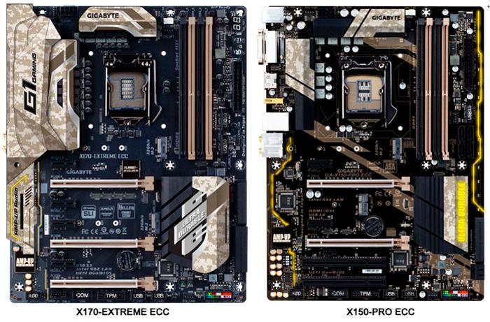 Nuevas placas Gigabyte X170 y X150 para CPUs Xeon 6 Intel Core, Imagen 1