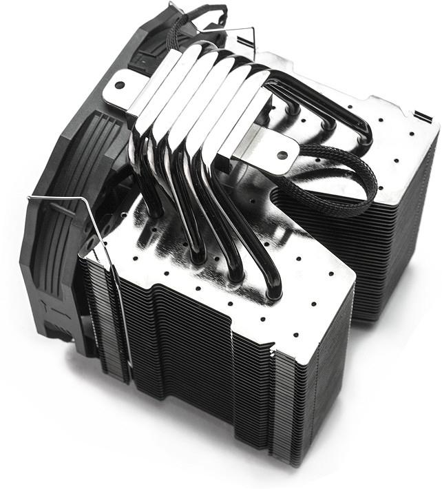 Nuevo disipador SilentiumPC Fortis 3 HE1425 Malik Customs Edition, Imagen 1
