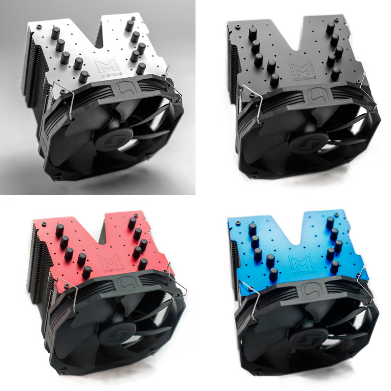 Nuevo disipador SilentiumPC Fortis 3 HE1425 Malik Customs Edition, Imagen 2