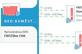 Como activar la tecnología Wifi Mesh en tu router Fritz!Box