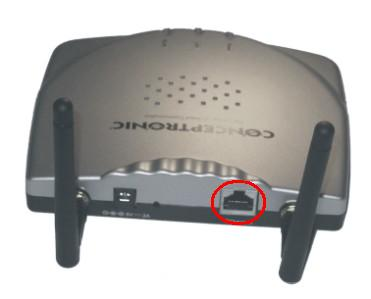 Análisis Punto de acceso C54APT Wireless 802.11g de Conceptronic, Imagen 2