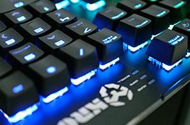 El sorprendente teclado mecánico Krom Kael de Nox