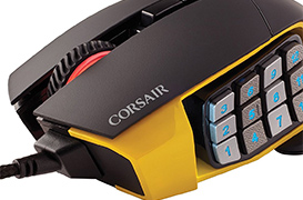 Ratón Corsair Scimitar Pro RGB