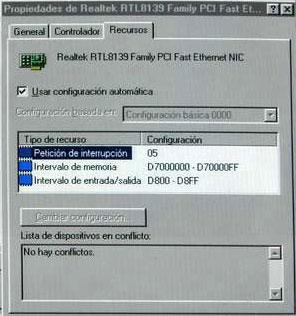 Red ethernet de dos ordenadores, Imagen 1