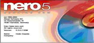 Software para Grabar CD's, Imagen 1