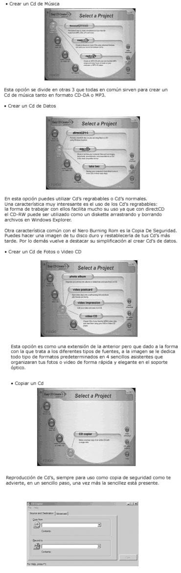 Software para Grabar CD's, Imagen 4