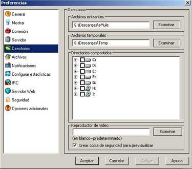 Configuración del eMule 0.27c, Imagen 5
