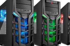 Nueva línea de torres gaming DG7000 de Sharkoon