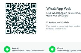 La versión web de whatsapp ya es compatible con Microsoft Edge