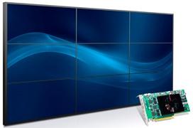 Nueva gráfica Matrox C900 con 9 salidas Displayport