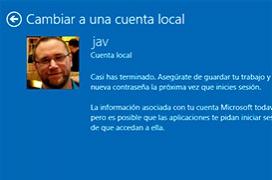 Cómo pasar de una cuenta Microsoft a local en Windows 10 sin perder datos