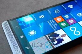 Primeras imáganes del HP Elite X3, el retorno de HP al mercado de los smartphones