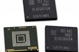 Samsung comienza la fabricación de sus chips Flash UFS de 256GB