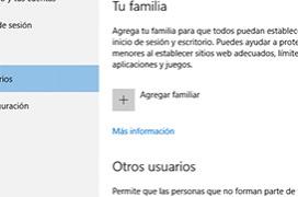 Como configurar el control parental en Windows 10