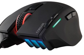 Corsair actualiza el sensor óptico del ratón Sabre alcanzando los 10.000 DPI