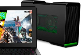La caja para GPUs externas Razer Core costará 500 Euros