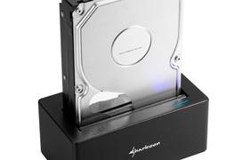 Nuevo dock para discos duros con puerto USB 3.1 Type-C de Sharkoon