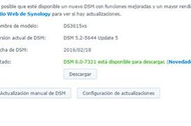 Se lanza la versión definitiva del DSM 6.0 de Synology