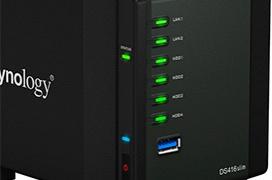 Synology renueva las prestaciones de uno de sus diseños más icónicos con el nuevo DS416slim