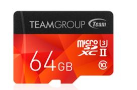 Las nuevas tarjetas microSD UHS-II U3 de Team Group alcanzan los 250 MB/s