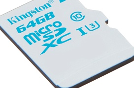Kingston lanza unas tarjetas microSD blindadas para cámaras de acción