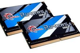 Nuevos módulos G.Skill Ripjaws DDR4-3000MHz para portátiles