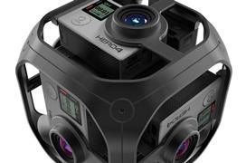 Así será Omni VR, el módulo de grabación 360 grados de GoPro