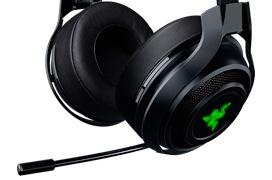 Razer Manowar, unos auriculares gaming inalámbricos de baja latencia
