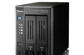 Thecus lanza su NAS W2810PRO con Windows Storage Server