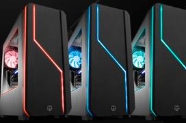 NOX Hummer MC, una torre gaming con iluminación LED multicolor por menos de 50 euros.